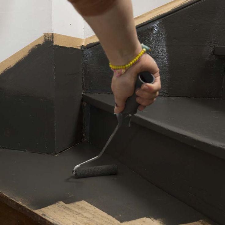 Best 25 peinture escalier ideas on pinterest peinture escalier bois escal - Peindre un escalier en bois exotique ...