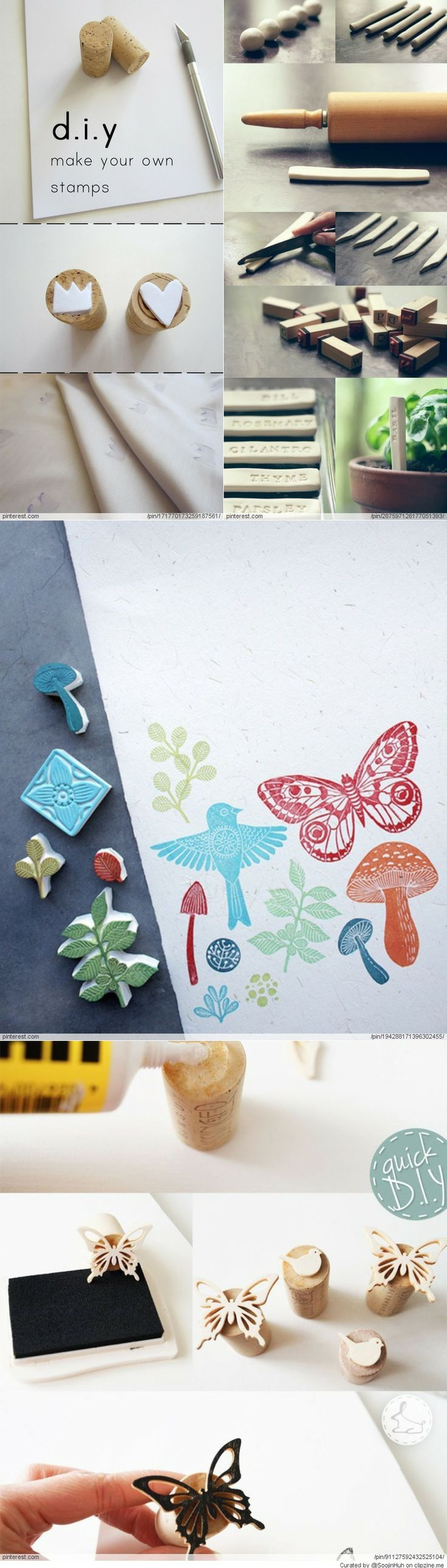 DIY Stamps & Patterns