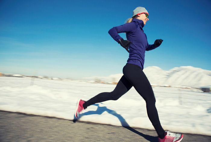 L'art de s'habiller pour courir l'hiver.