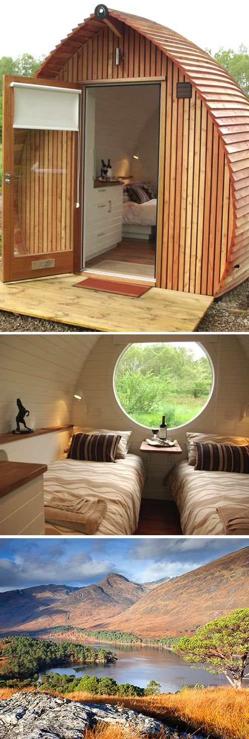 Best Glamping In Scotland Ideas On Pinterest Glamping - Royal navy sea king gets transformed into unique glamping pod