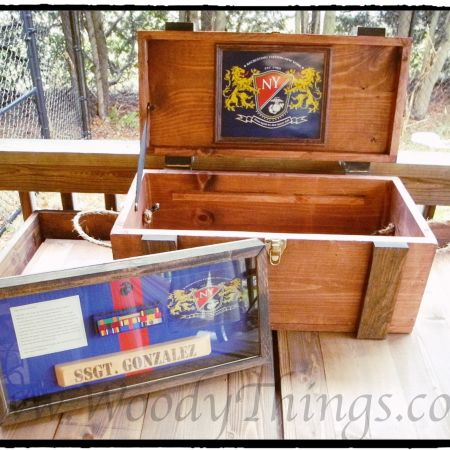 SNCOIC Chest and Shadow Box