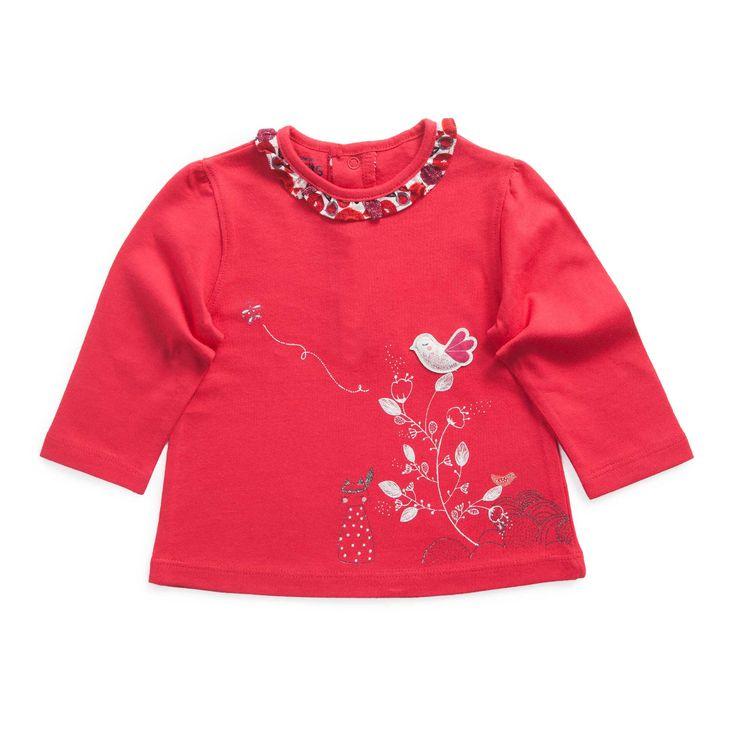 """T-shirt en coton  """"La tribu des petits chats"""""""