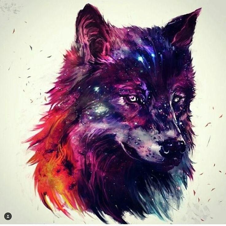 больного картинка волк абстракция всегда ношу
