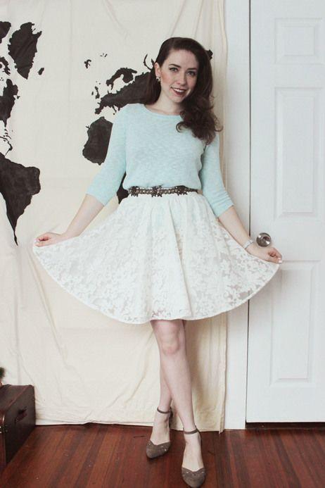 #pastels #mint #lace #spring