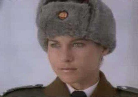 Anya Major as Nikita in Elton Johns classic 1985 video clip.  Nikita  Pinterest  Presents