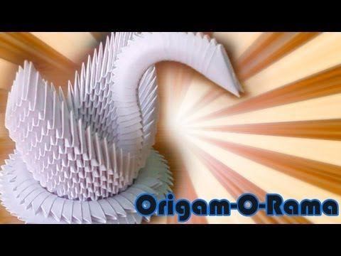 TUTORIAL - Cisne (modular de 400 piezas)