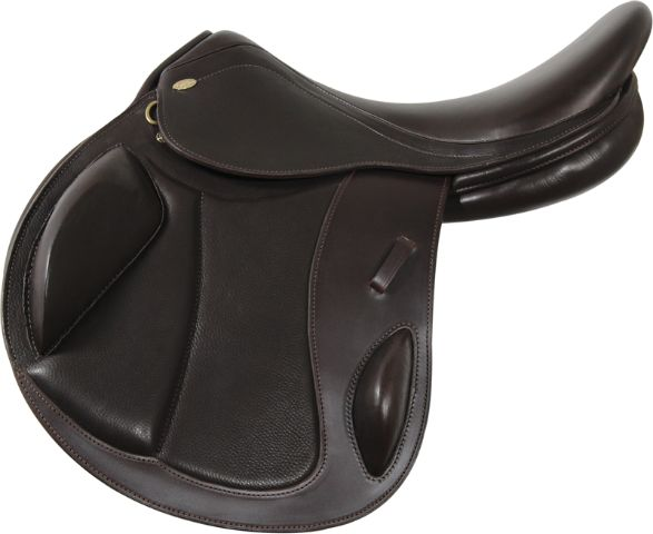 Silla de Salto Cross Kentaur Eventer II. Silla de Salto Profesional de la Prestigiosa Marca Kentaur. Fabricada artesanalmente con pieles Europeas de 1ª Calidad especialmente seleccionadas.