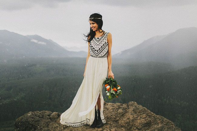 Amazing elopement wedding with great photography and a seriously amazing videographer.