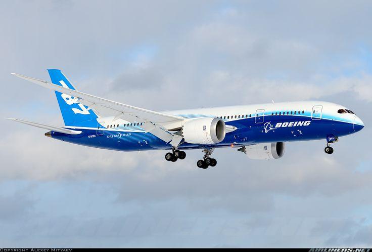 The Dreamliner... Simply beautiful!