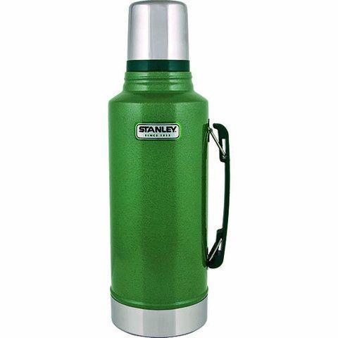 Stanley Vacuum Bottle - Hammertone Green www.westgoods.co
