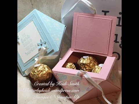 Ferrero Friday Elegant Envelope Punchboard Box with top opening – flutterbyheidi