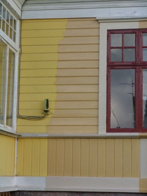 färgsättning hus linoljefärg - Sök på Google