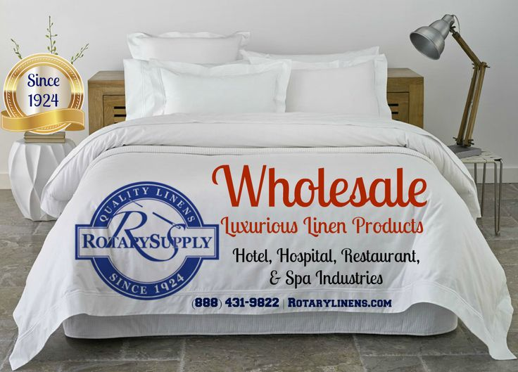 Commercial Bed Linen Suppliers - Rotarylinens