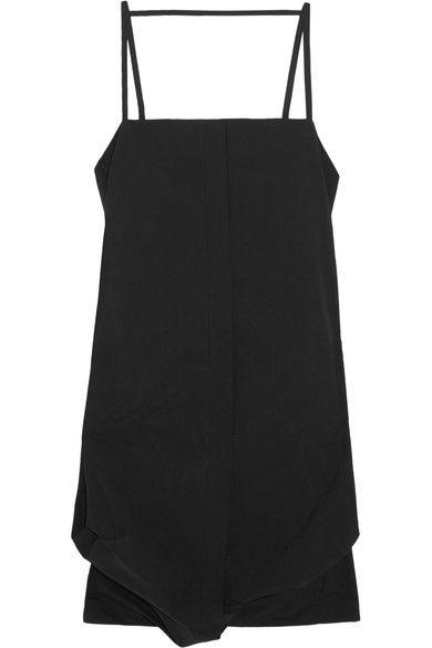 Maison Margiela - Cotton-blend Poplin Dress - Black - IT46