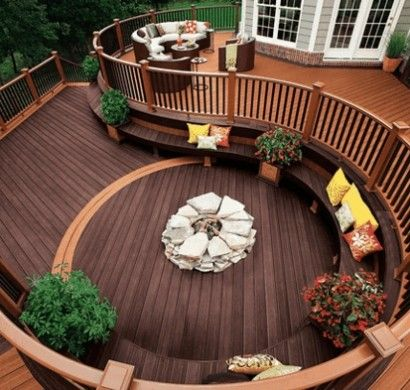 best 25+ terrassengestaltung ideen ideas on pinterest | hofgarten ... - Outdoor Patio Design Ideen