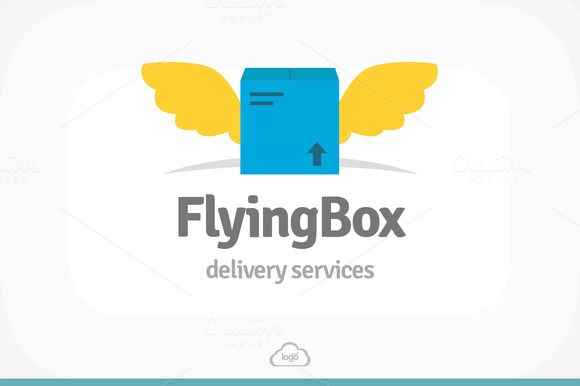 Check out Flying Box Logo Template by Logo Heaven on Creative Market -> http://crtv.mk/dllK