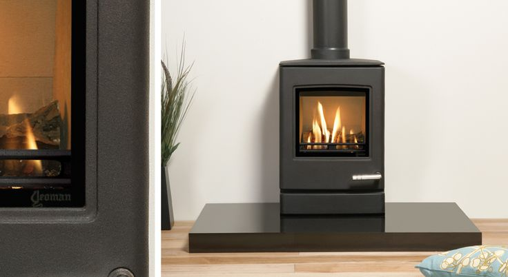 Gas Stove. Highly realistic log effect The CL3 is the smallest of the new contemporary gas stoves from Yeoman. Despite its compact dimensions, underneath the smooth,