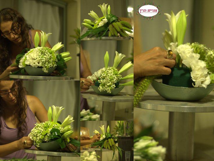 Orit Hertz Floral Designer Designing White Modern