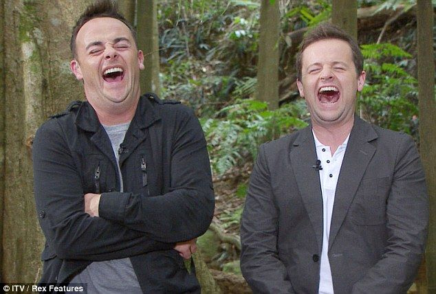 Ant and Dec can't stop laughing