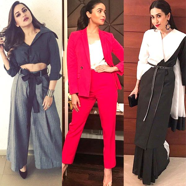 Alia Bhatt, Sonakshi Sinha, Karisma Kapoor's stylish attires land them in the best dressed category this week #FansnStars
