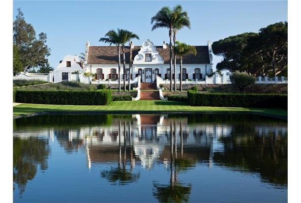 """""""Constantia"""" 1930's Cape Dutch Style. Montecito  California"""