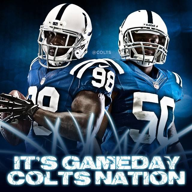 It S Gameday Colts Nation Coltstrong Baby Pinterest