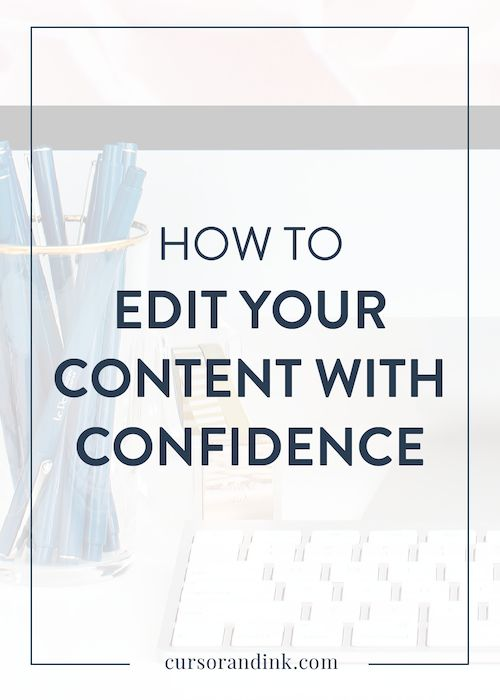 Having someone else to read your drafts can be a helpful way to get a fresh perspective on your content before you publish it. But what if you don't have the budget to hire an editor, or the time to have a friend read over your draft? If you've ever felt unsure about how to edit your own content or blog posts, this is for you.