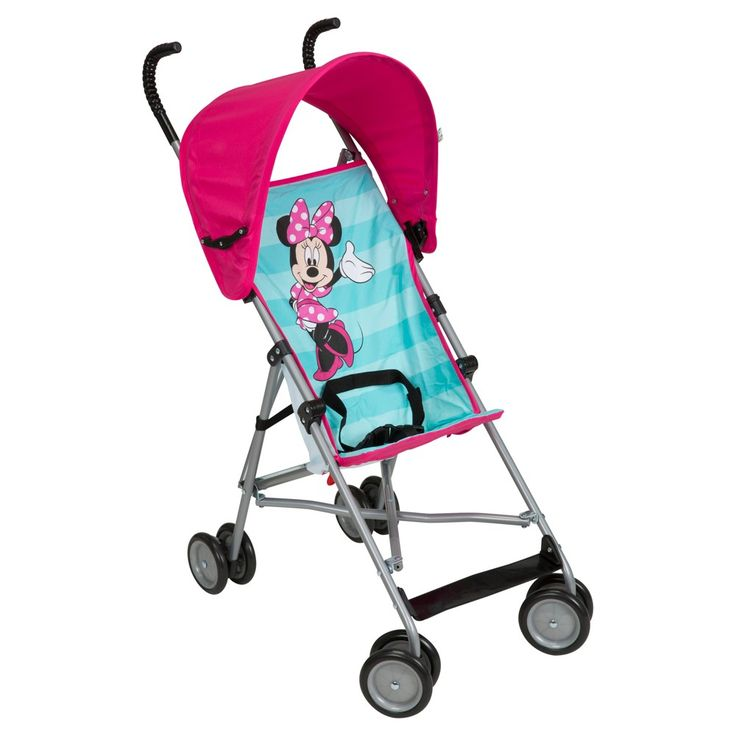 Disney Minnie Mouse Canopy Umbrella Stroller - Minnie Ta ...