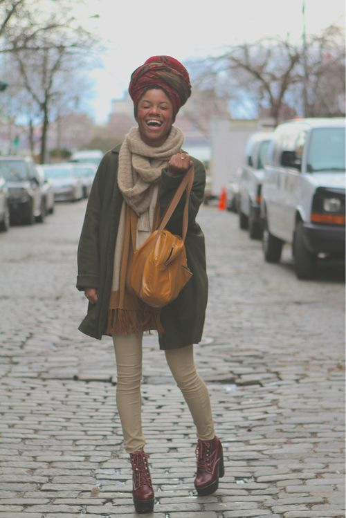 i don't know if it's the boots and headwear, or how happy this girl is... but i'm lovin' it