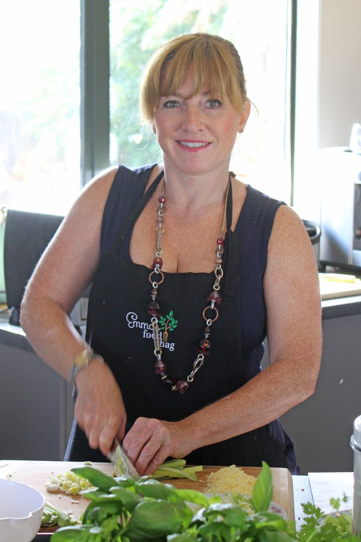 MEET OUR CHEF  There's someone I would like you to meet... Chef Kristen has been an integral part of the Emma's Food Bag team since day one and we owe a huge amount of our culinary pleasures to this lovely lady!