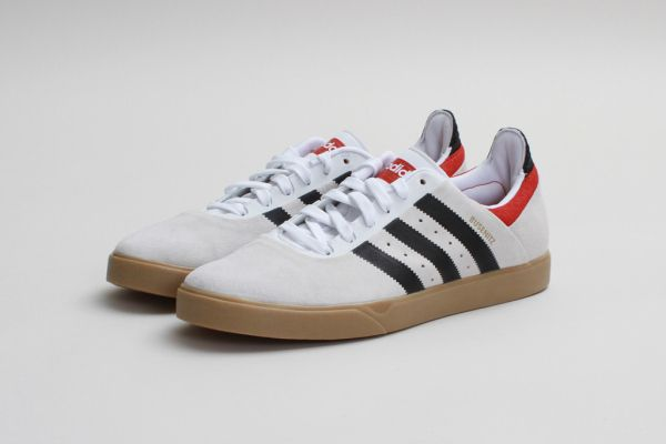 Adidas Skateboarding Busenitz ADV Run White/Black-Brick / Follow My SNEAKERS Board!
