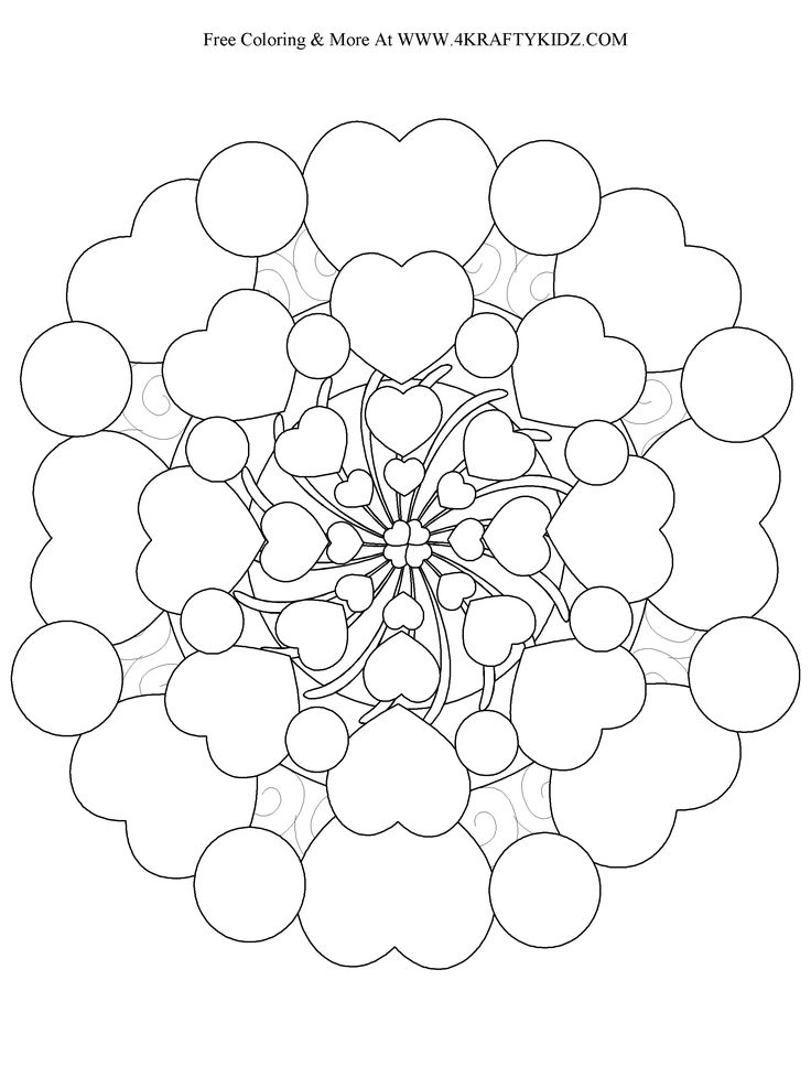 Ladybug Coloring Pages Detailed Coloring Pages Mandala 3