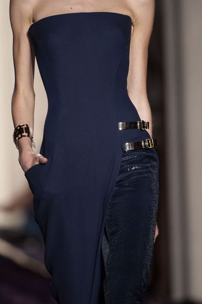 I love the detail on this - Atelier Versace, Couture, Fall 2014