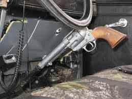 Revolver gear shift