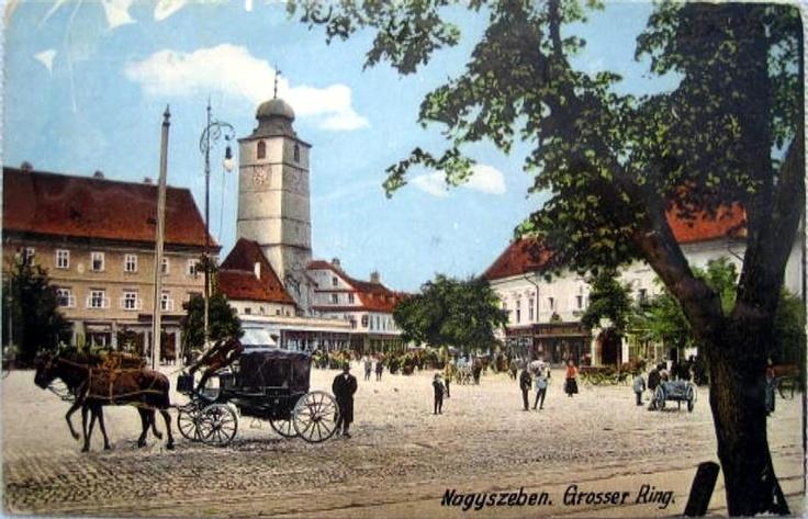 Sibiu - Piata - antebelica