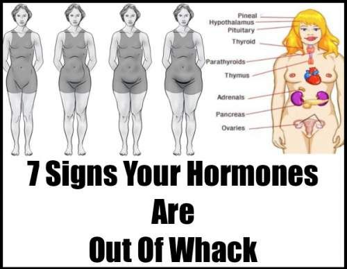 7 Signs Your Hormones Are Out Of Whack #Hormones #hormonalimbalance #medical #health #womenhealth #nightsweat #fatigue #skin #hairloss #hairthining