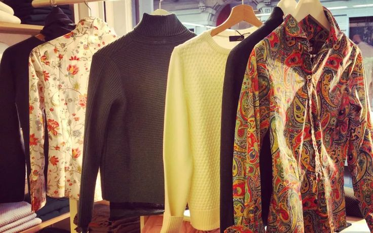 Le camicie in tessuto Liberty of London