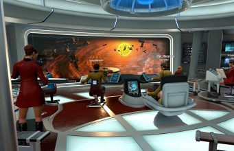 Star Trek: Bridge Crew Supports Windows VR Headsets and Non-VR Players  50% Sale