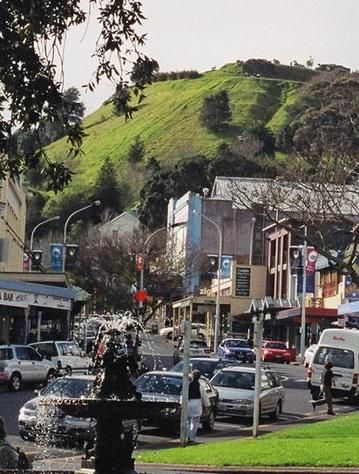 I used to live in this gorgeous village on Auckland Harbour - and I used to run up and down that hill! - Mt Victoria in Devonport, Auckland, New Zealand