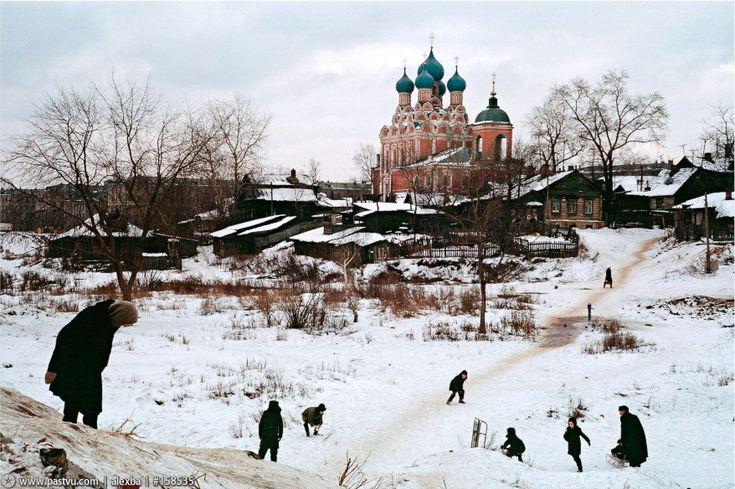 Село Алексеевское, 1962 год. Сейчас это район метро ВВЦ