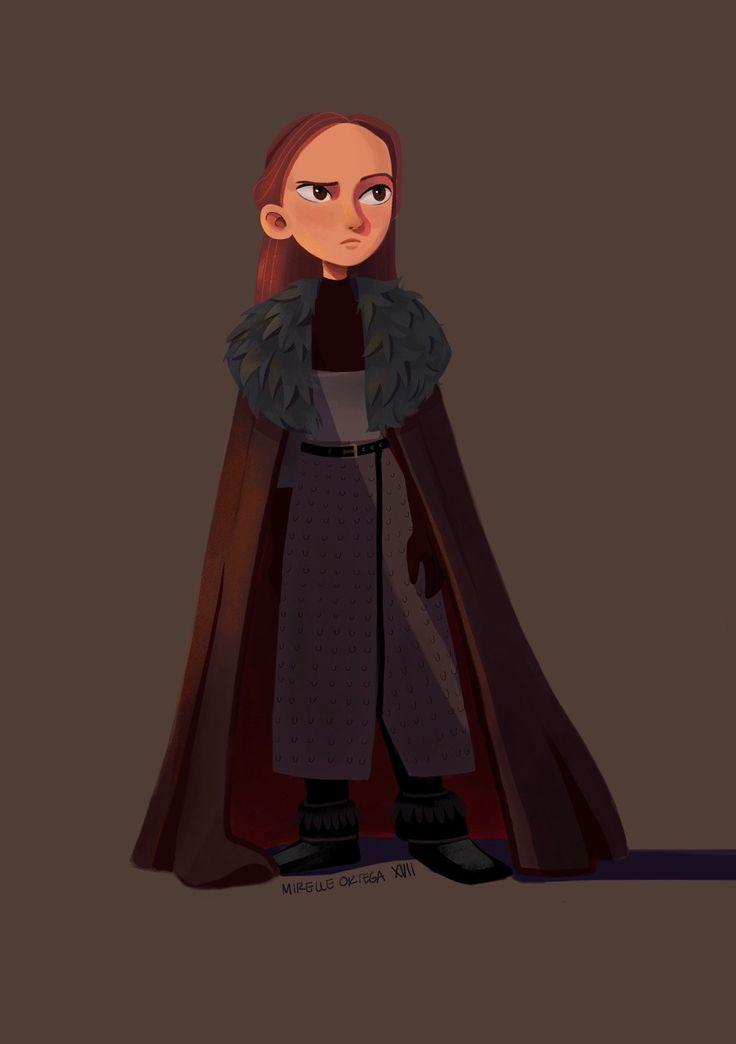 Lyanna Mormont, lady of bear island and badass extraordinaire.