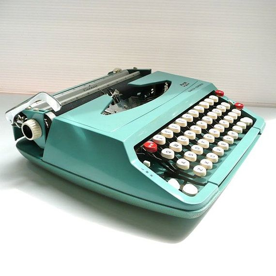 I learned to type on one of these...