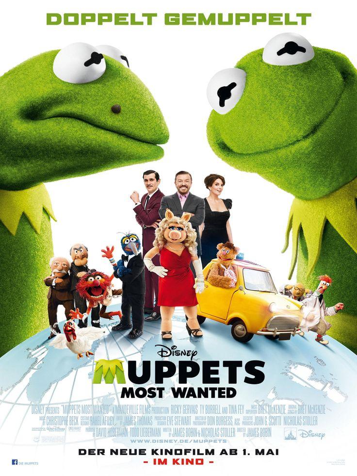 Die Muppets 2: Muppets Most Wanted (Animation/Komödie 2014)