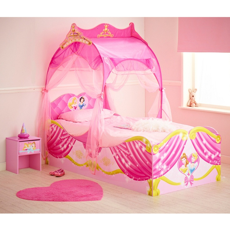 28 best images about chambre enfant princesse on pinterest disney belle an - Lit carrosse de princesse ...