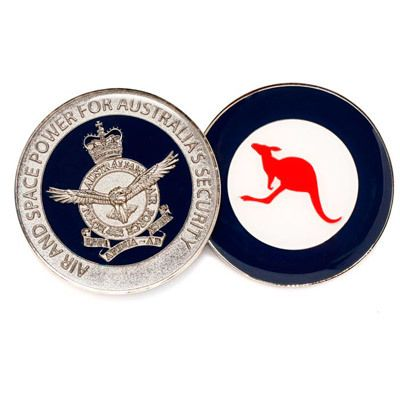 Defence Gifts - Air Force Medallion In Capsule 50mm, $15.50 (http://www.defencegifts.com.au/air-force-medallion-in-capsule-50mm/)