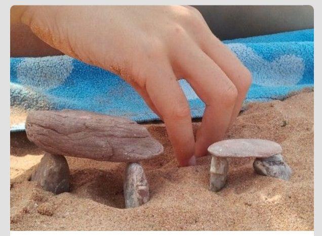 Geschiedenis krijg je het beste in de vingers door zelf... hunnebedden te bouwen!