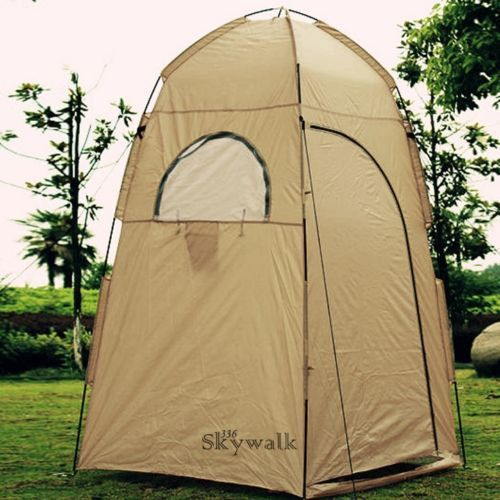 Portable Camp Shower Tent Shelter Camping Hiking Outdoor Bathroom Bathing New