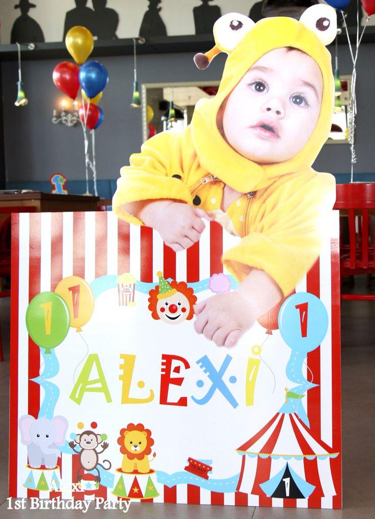 Alexi s first birthday party  #circusbirthdayparty #partisepeti