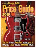 Vintage Guitar Books - The Official Vintage Guitar Price Guide 2015 - Black/White/Red/Yellow/Orange, 138549