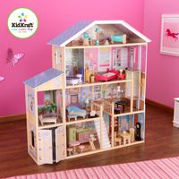 KidKraft Majestic 4 Story Mansion Dollhouse   65252   Thereu0027s Room Enough  For The Cheerleading Squad, The Soccer Team, And Half The High School Band  In The ...